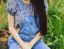 jeansowe ogrodniczki