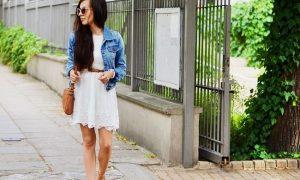 biała sukienka na co dzień