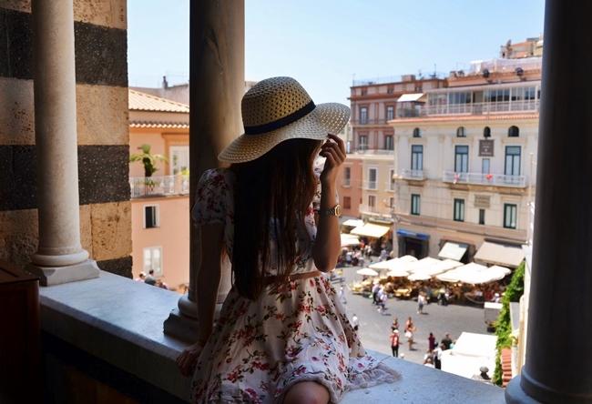 dzień w miasteczku Amalfi
