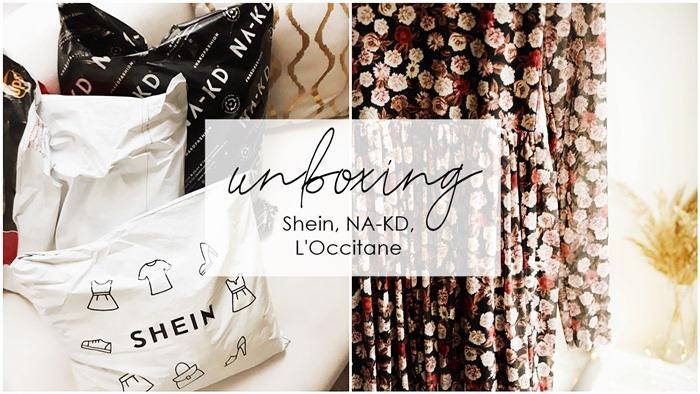 unboxing / Shein, NA-KD, L'Occitane